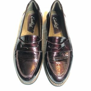 Earthies Wine flat loafers